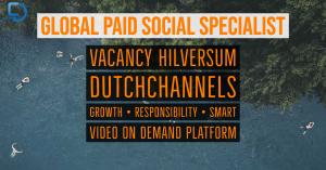 Global Performance Paid Social Specialist (f_m_x) Hilversum