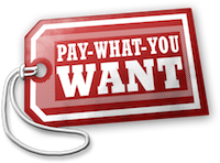 Pay What You Want PWYW Orange Recruitment