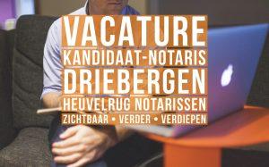 kandidaat notaris familierecht vacature driebergen heuvelrug notarissen