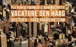 plv Hoofd Financiële Administratie vacature Den Haag