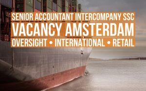 senior accountant intercompany ssc vacancy amsterdam